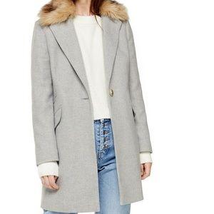 Gray topcoat